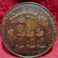 Medalla de la conquista de Portobelo.