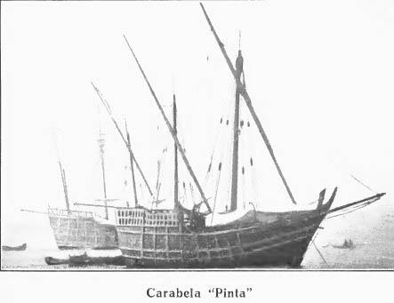 Carabela Pinta construida en 1892.