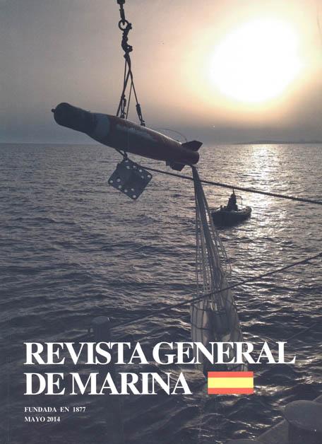 Portada de la Revista General de Marina de mayo de 2014