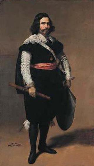 Retrato de don Adrian Pulido Pareja y Ramírez de Arellano. National Gallery, London. Mazo.