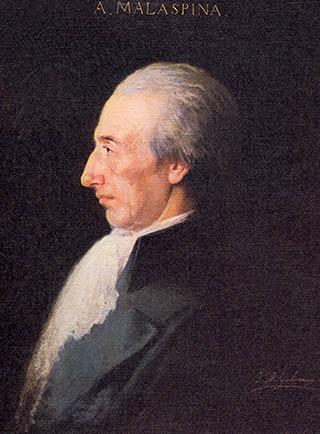 Alejandro de Malaspina. Cortesía del Museo Naval. Madrid.