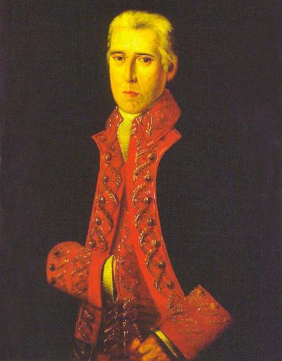 Antonio de Escaño y García Garro de Cáceres. Cortesía del Museo Naval. Madrid.