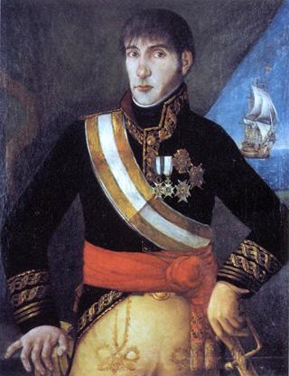 Don Baltasar Hidalgo de Cisneros y de la Torre. Cortesía del Museo Naval. Madrid.