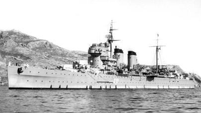 Foto del crucero Canarias modificado. Colección Todoavante. Casaú. Cartagena.
