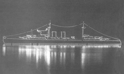 Crucero Canarias en Atenas en 1962.