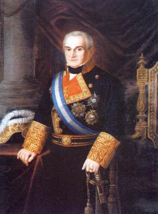 Casimiro Vigodet y Garnica. Cortesía del Museo Naval. Madrid.