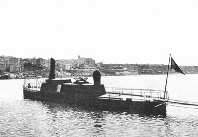 Foto del torpedero Castor. Colección de don Alfredo Aguilera.