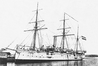 Crucero Colón. Colección de don José Lledó Calabuig.