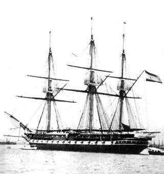 Fragata Concepción de 2ª clase. Colección de don José Lledó Calabuig.