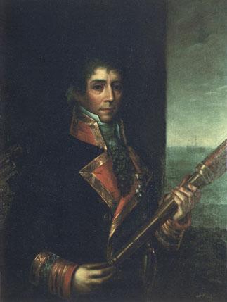 Diego Alvear y Ponce de León. Cortesía del Museo Naval. Madrid.