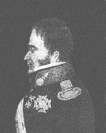 Domingo Monteverde y Rivas. Cruz Laureada de San Fernando de 2ª clase.