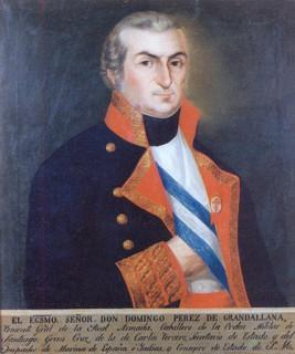Domingo Pérez de Grandallana y Sierra. Cortesía del Museo Naval de Madrid.