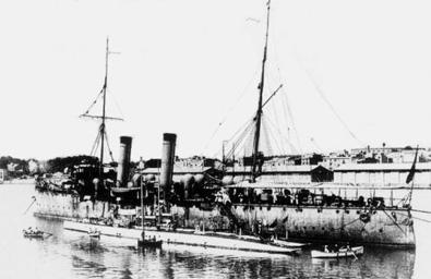 Crucero Extremadura. Colección de don Alfredo Aguilera.