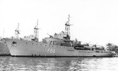 Foto de la corbeta Nautilus. Colección Todoavante. Casaú. Cartagena.
