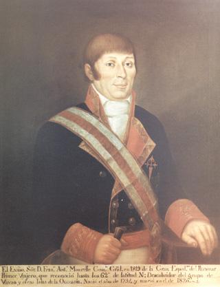 Francisco Antonio Mourelle de la Rua. Cortesía del Museo Naval. Madrid.