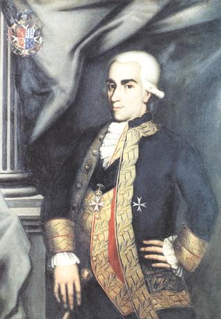 Retrato de don Retrato de don Francisco Gil de Taboada y de Lemos. Cortesía del Museo Naval. Madrid.