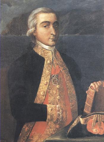 Retrato de don Francisco Herrera y Cruzat. Cortesía del Museo Naval. Madrid.