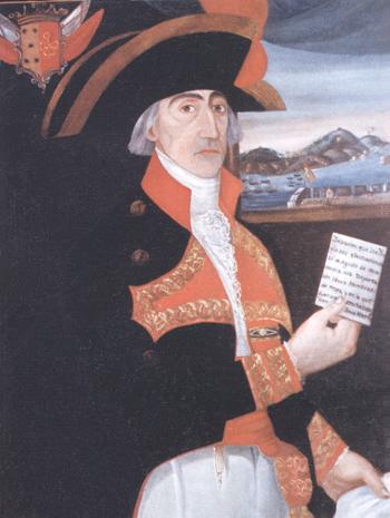 Francisco Javier de Melgarejo y de Rojas. Cortesía del Museo Naval. Madrid.