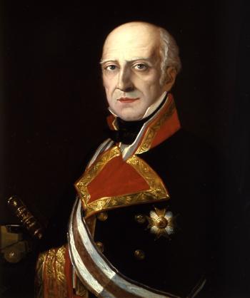 Retrato de don Francisco Javier Rovira Fernández de Mesa. Cortesía del Museo Naval. Madrid.