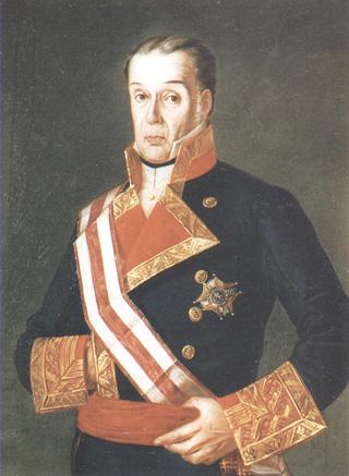 Retrato de don Felipe de Villavicencio y Sarsana. Cortesía del Museo Naval. Madrid.