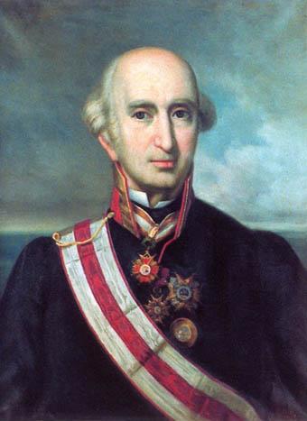 Honorato de Bouyon y Serze. Cortesía del Museo Naval. Madrid.