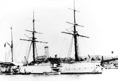 Crucero Infanta Isabel. Colección de don José Lledó Calabuig.