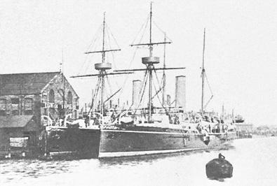 Crucero Isla de Cuba. Colección de don José Lledó Calabuig.