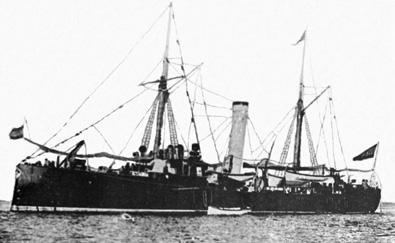 Crucero Isla de Luzón. Colección de don José Lledó Calabuig.