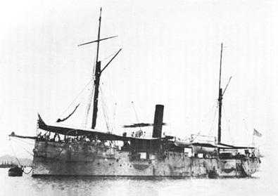 Crucero Juan de Austria. Colección de don José Lledó Calabuig.