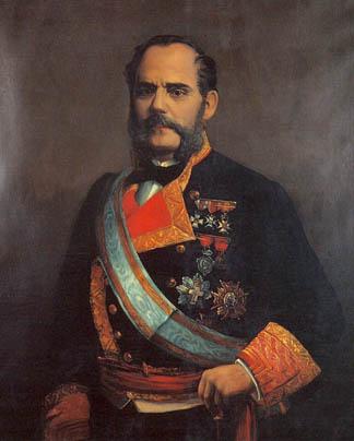 Juan Bautista Topete y Carballo. Cortesía del Museo Naval. Madrid.
