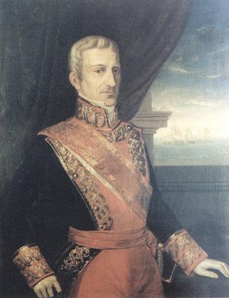 Juan José Martínez de Espinosa y Carrillo. Cortesía del Museo Naval. Madrid.