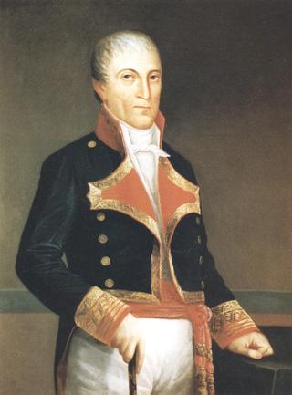 Retrato de don Juan María de Herrera Dávila y Raffaelini. Cortesía del Museo Naval. Madrid.