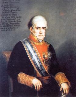 Juan María de Villavicencio y de la Serna. Cortesía del Museo Naval. Madrid.