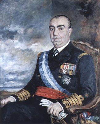 Luis Carrero Blanco. Cortesía del Museo Naval. Madrid.