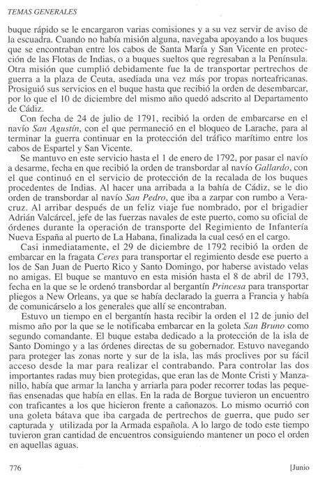 Biografía de don Luis de Coig y Sansón, publicada en la Revista General de Marina en su cuaderno de junio de 2013. Pág. 3