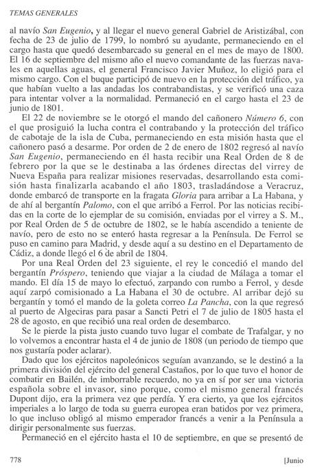 Biografía de don Luis de Coig y Sansón, publicada en la Revista General de Marina en su cuaderno de junio de 2013. Pág. 5
