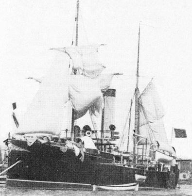 Crucero Marqués de la Ensenada. Colección de don José Lledó Calabuig.