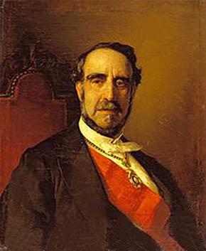 Mariano Roca de Togores y Carrasco. Ministro de Marina.