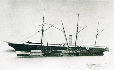 Mercante Marqués de la Victoria. Colección del Museo Naval. Madrid.