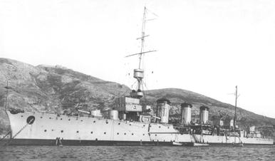 Foto del crucero Méndez Núñez. Colección Todoavante. Casaú. Cartagena.