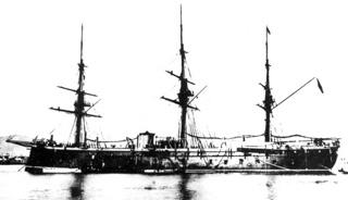 Fragata acorazada Numancia.