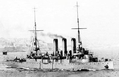 Crucero Reina Regente 2º. Colección de don Alfredo Aguilera.