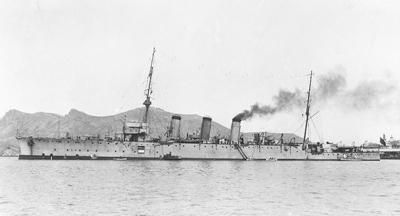 Foto del crucero Reina Victoria Eugenia. Colección Todoavante. Casaú. Cartagena.