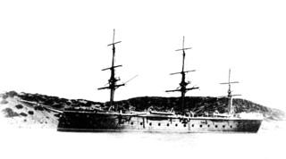 Fragata acorazada Sagunto.