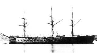 Fragata acorazada Tetuan.