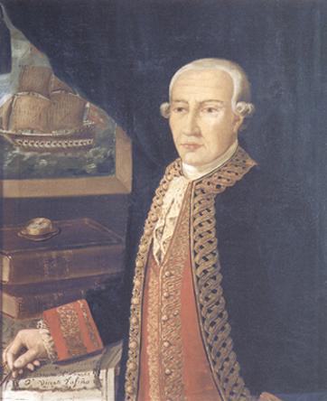 Retrato de don Vicente Tofiño San Miguel y Vandewalle. Cortesía del Museo Naval. Madrid.